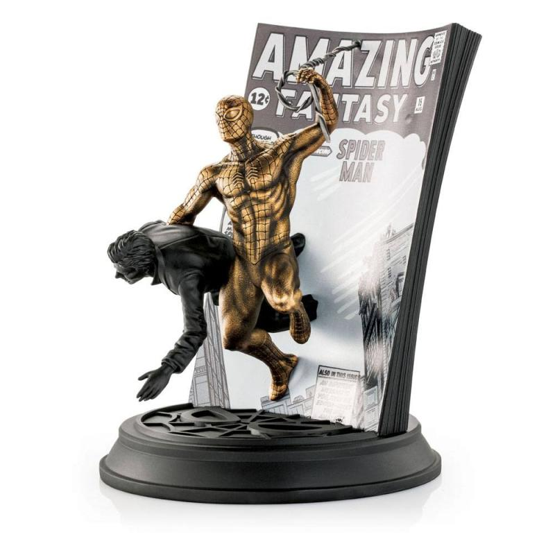 Marvel: Regular & Gilt Spider-Man - Pewter Collectible Edition - Statues 22 cm - Royal
