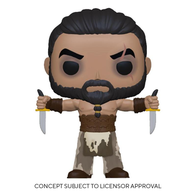 Game Of Thrones: Khal Drogo w/Daggers 9 cm POP! TV Vinyl Figure - Funko