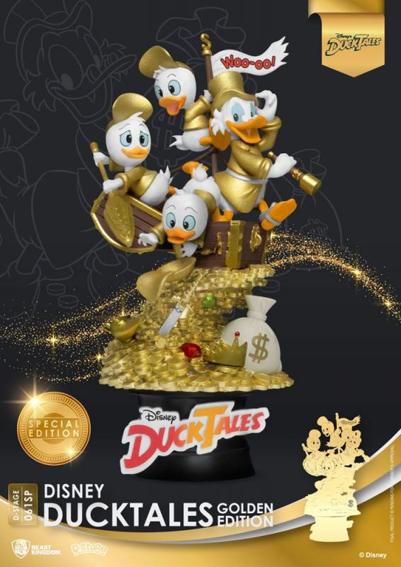 Disney: DuckTales 15 cm D-Stage Diorama Golden Edition - Beast Kingdom Toys