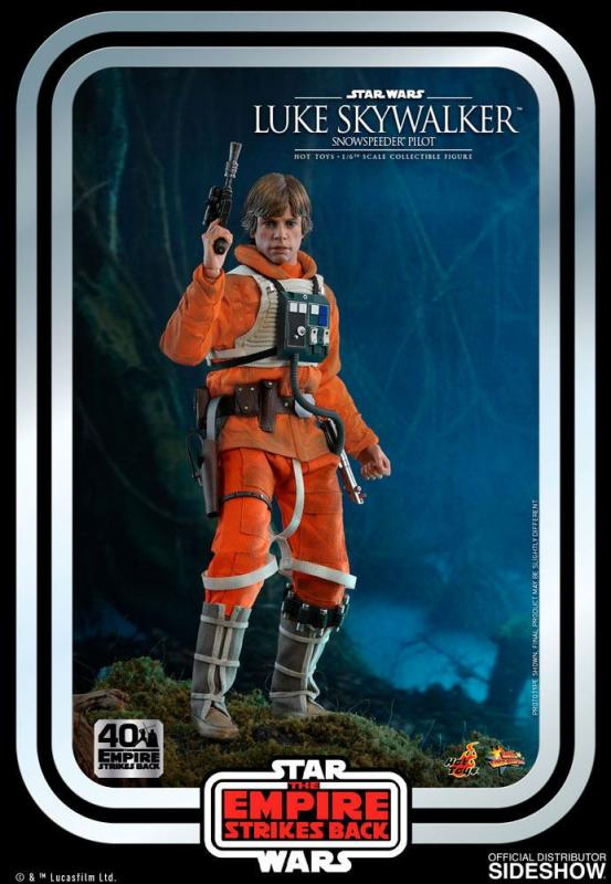 Star Wars Episode V Movie Masterpiece Action Figure 1/6 Luke Skywalker (Snowspeeder Pilot)