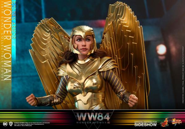 Wonder Woman 1984: Golden Armor Wonder Woman - Figure 1/6 - Hot Toys