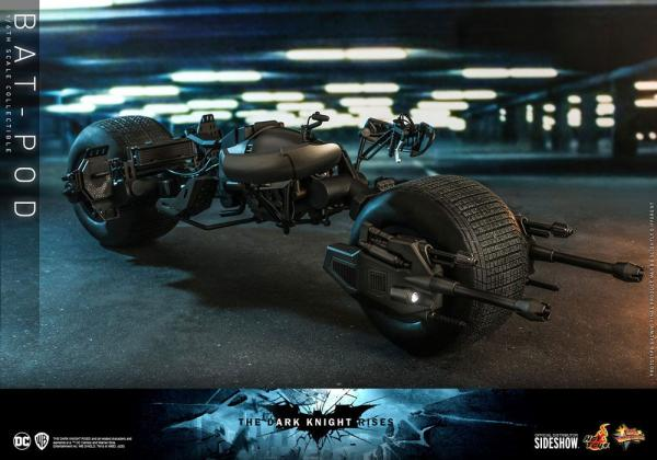 Batman The Dark Knight Rises Movie Masterpiece Action Figure 1/6 Bat-Pod 59 cm