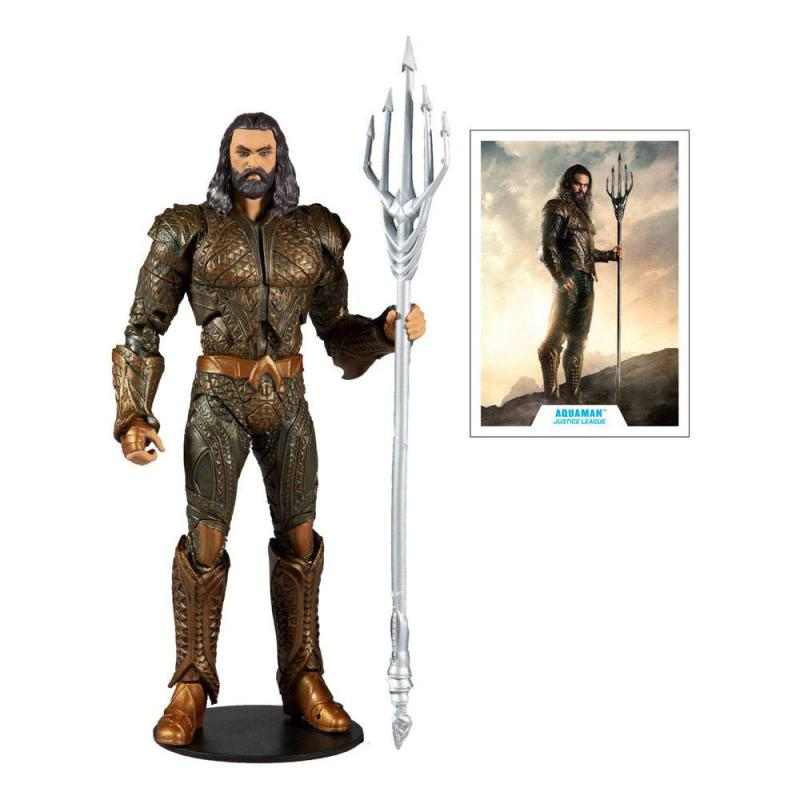 DC Justice League: Aquaman 18 cm Movie Action Figure - McFarlane Toys