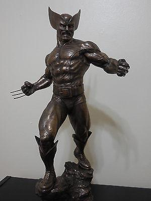 Bronze Wolverine Classics Statue -Sideshow Collectibles