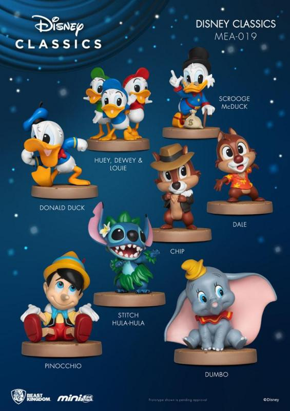 Disney Classic: Display - Mini Egg Figures 8 cm - Beast Kingdom