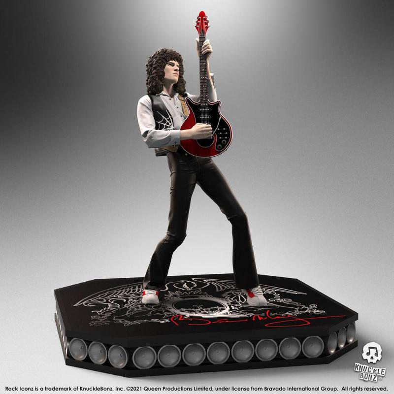 Queen: Brian May 23 cm Statue - Knucklebonz