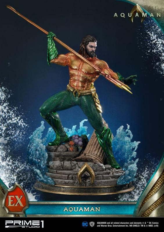 Aquaman Statues Aquaman & Aquaman Exclusive 88 cm Assortment (3)