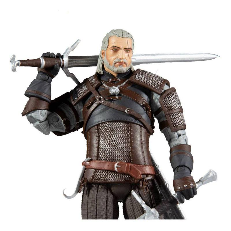 The Witcher: Geralt - Figure 18 cm - McFarlane Toys