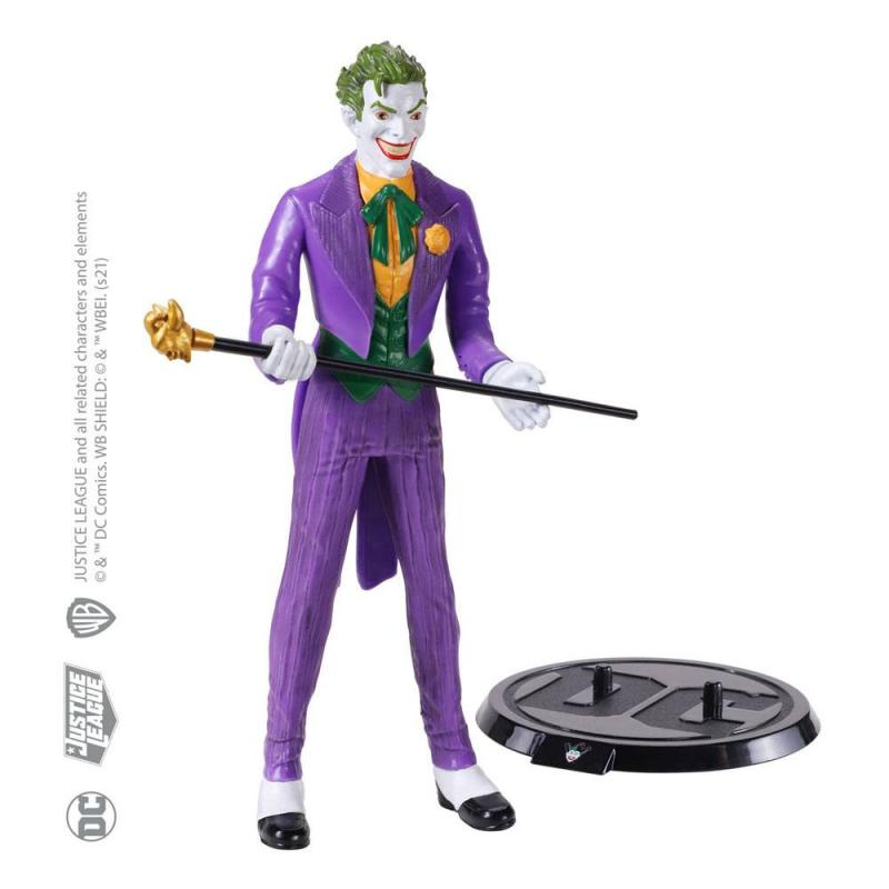 DC Comics: Joker 19 cm Bendable Figure - Noble Collection