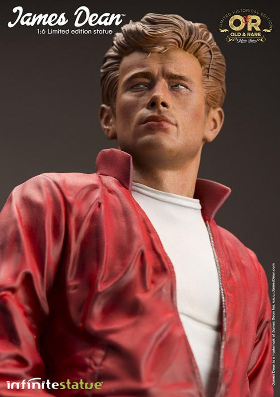 JAMES DEAN OLD&RARE RESIN STATUE 1/6 - Infinite Statue