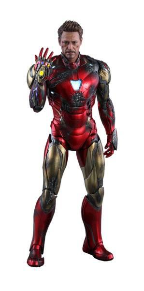 Avengers Endgame: Iron Man Mark LXXXV Battle Damaged Ver.  32 -     1/6 Figure - Hot Toys