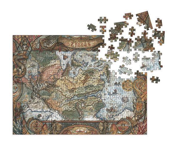 Dragon Age Jigsaw Puzzle World of Thedas Map (1000 pieces) - Dark Horse