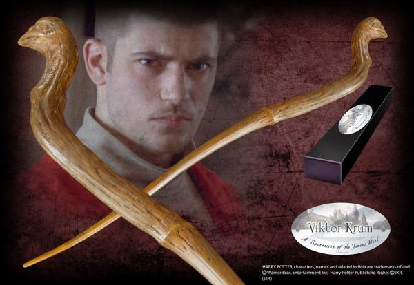 Harry Potter Wand Viktor Krum (Character-Edition) - Noble Collection
