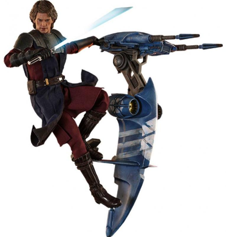 Star Wars The Clone Wars: Anakin Skywalker & STAP - Figure 1/6 - Hot Toys