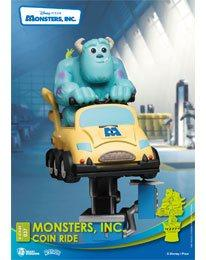 Disney Coin Ride: Monsters Inc. - D-Stage PVC Diorama 16 cm - Beast Kingdom