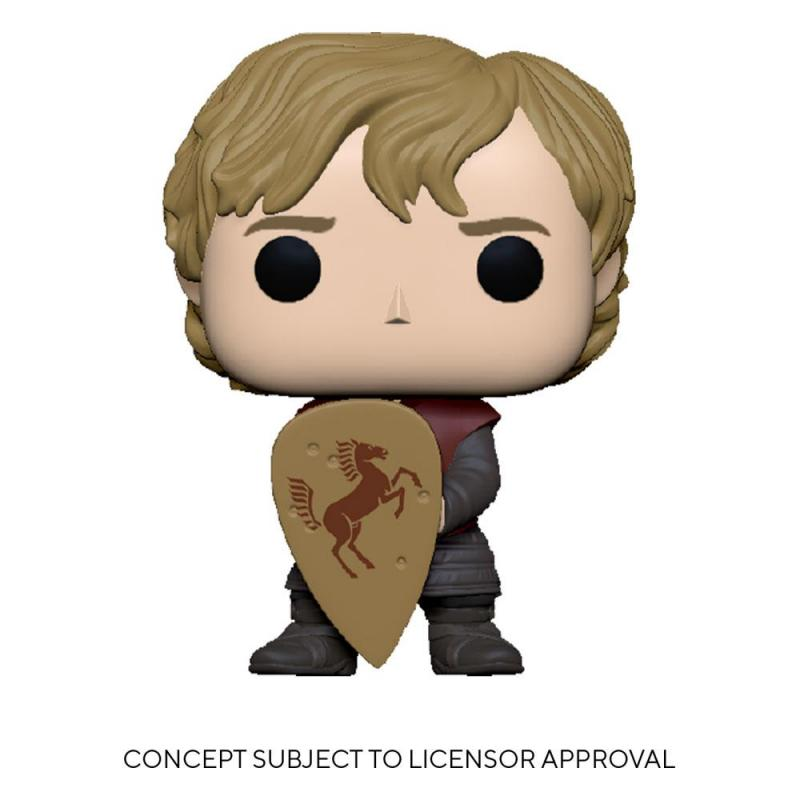 Game Of Thrones: Tyrion w/Shield 9 cm POP! TV Vinyl Figure - Funko