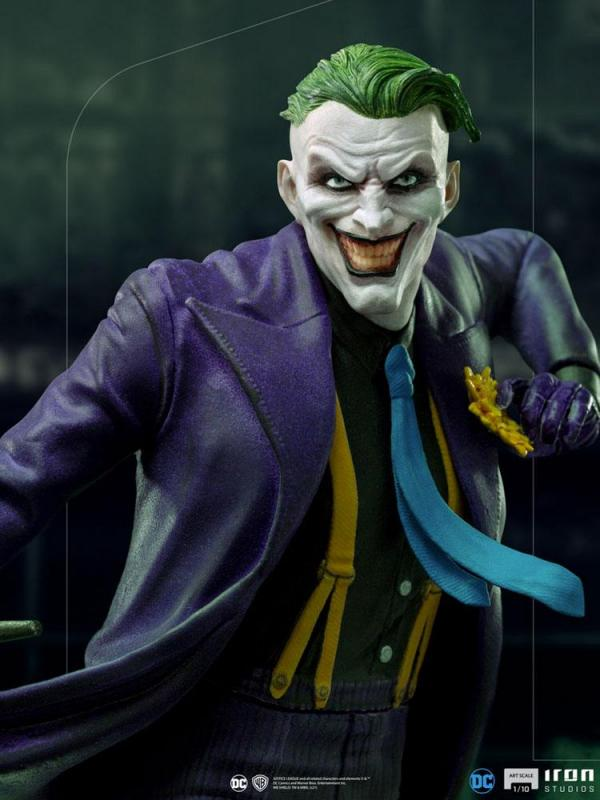 DC Comics: The Joker 1/10 Art Scale Statue - Iron Studios
