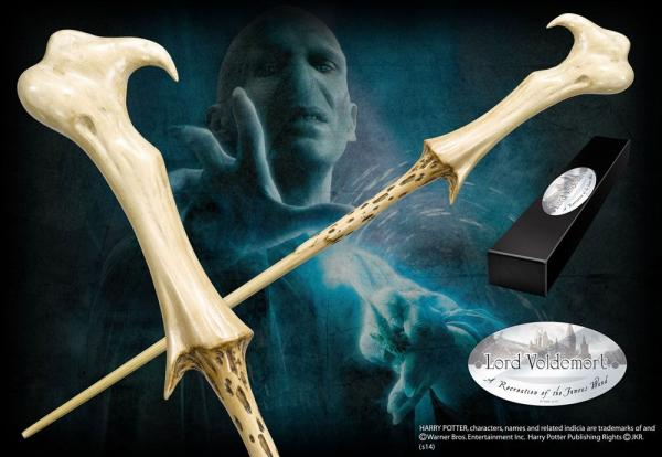 Harry Potter Wand Lord Voldemort (Character-Edition) - Noble Collection