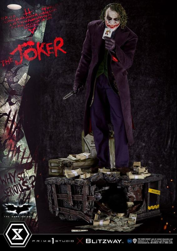 The Dark Knight: The Joker Bonus Version - Statue 1/3 - Prime 1 Studio