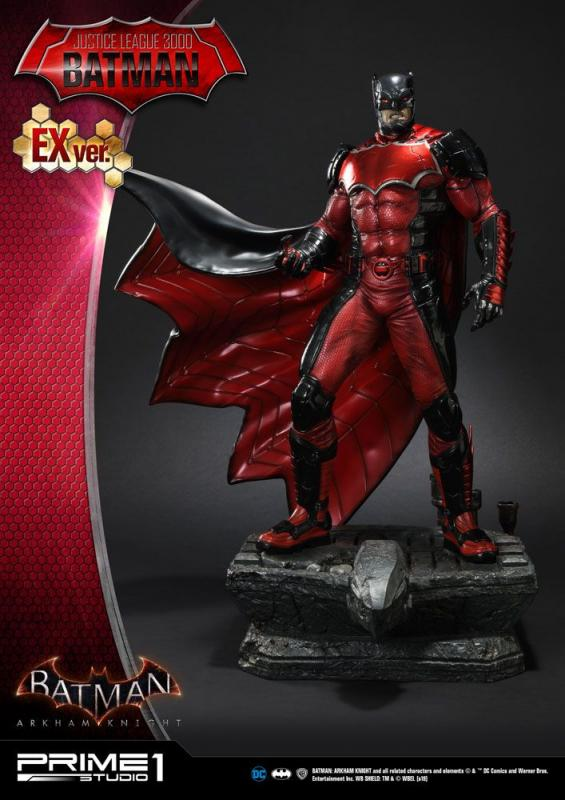 Batman Arkham Knight Statues 1/5 Justice League 3000 Batman & Exclusive 49 cm Assortment