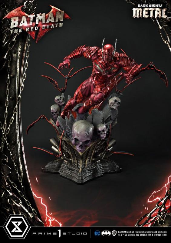 Dark Nights: The Red Death 1/3 Statue - Prime 1 Studio