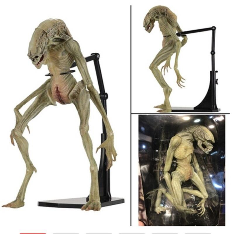18cm NECA Aliens Vs Predator Figure Alien Newborn PVC Action Figure