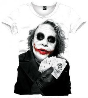 Batman T-Shirt Joker Poker
