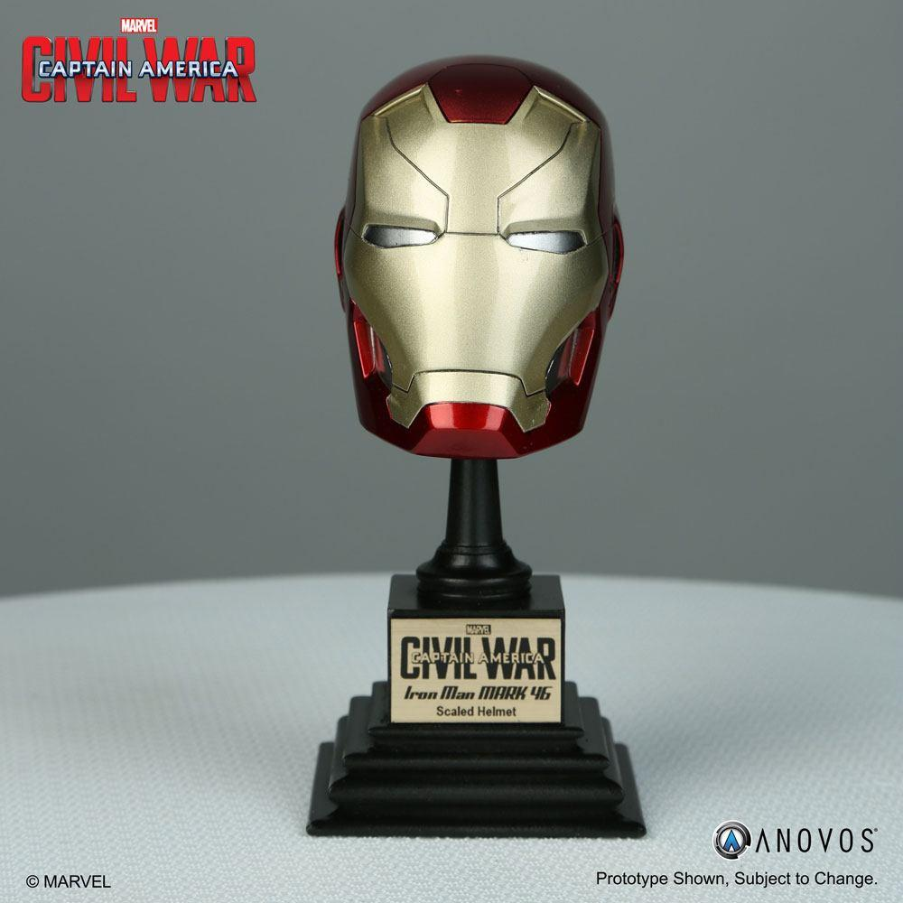 Captain America Civil War Replica 1/3 Iron Man XLVI Helmet