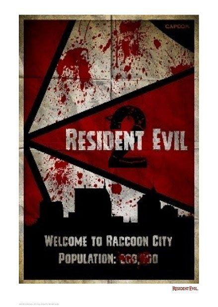 Resident Evil 2 Art Print Welcome To Raccoon City 42 x 30 cm