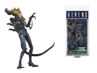 "NECA - Aliens 7"" scale action figure - Series 12 Xenomorph Warrior (Battle Damaged)"