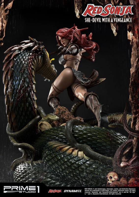 Red Sonja Statue Red Sonja She-Devil with a Vengeance 79 cm