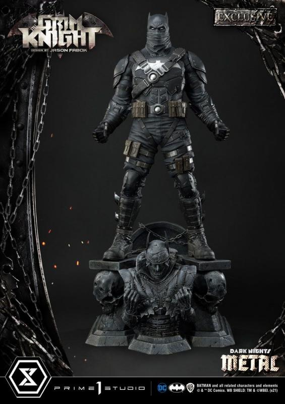 Dark Nights: Metal Statues The Grim Knight & The Grim Knight Exclusive 82 cm Assortment