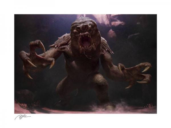 Star Wars: The Rancor - Art Print 61 x 46 cm - unframed - Sideshow