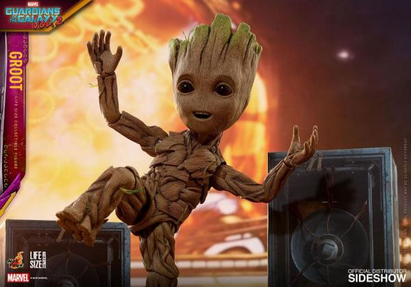 Guardians of the Galaxy Vol. 2 Life-Size Groot Hot Toys