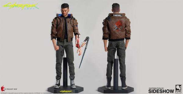 Cyberpunk 2077 Action Figure Male V 30 cm