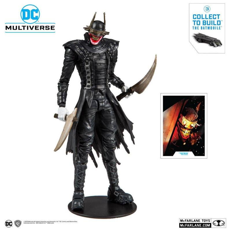 Dark Nights: Metal Build A The Batman Who Laughs - Figure 18 cm - McFarlane Toys