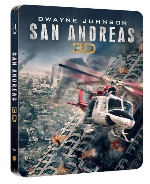 San Andreas 3D Blue-ray Steelbook
