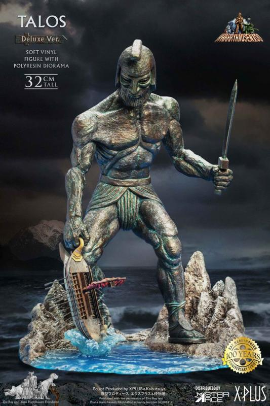 Jason and the Argonauts: Talos 32 cm Soft Vinyl Statue Deluxe Ver. - Star Ace Toys