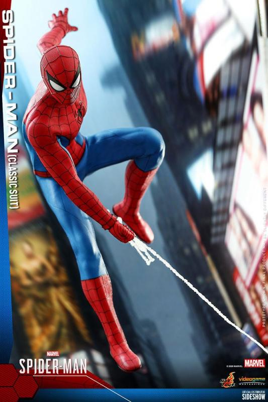 Marvel's Spider-Man: Spider-Man (Classic Suit) - Figure 1/6 - Hot Toys
