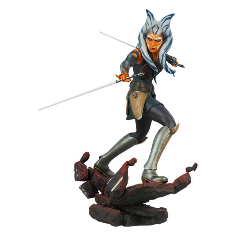 Star Wars: Ahsoka Tano 1/4 Premium Format Statue - Sideshow Collectibles