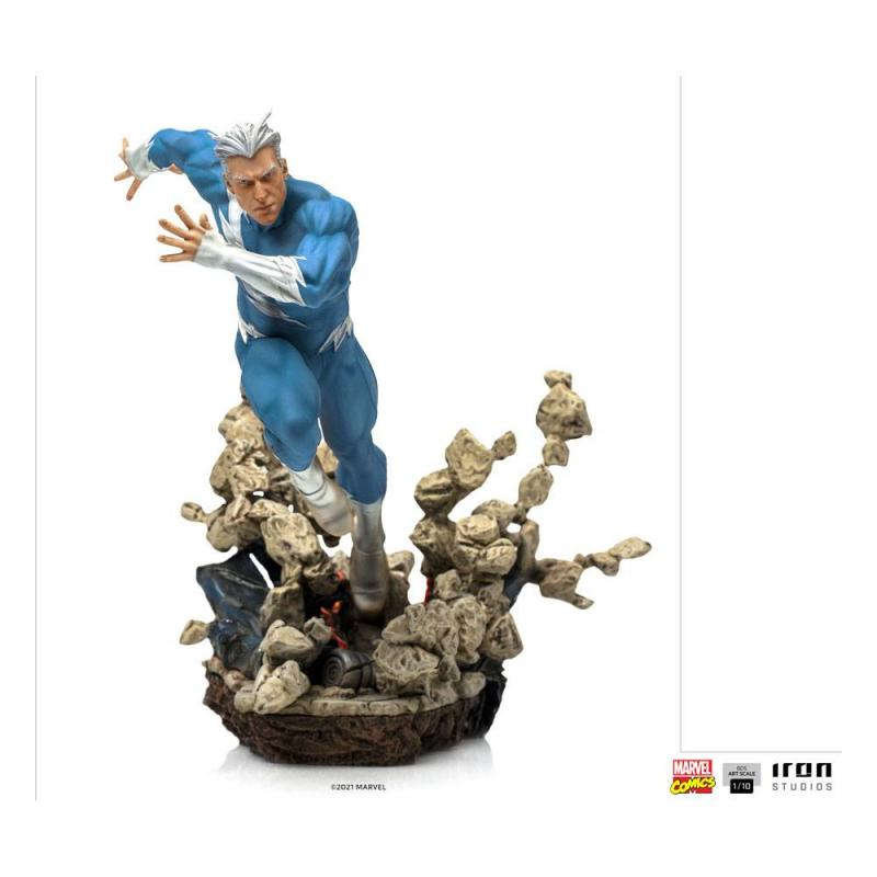 Marvel Comics: Quicksilver 1/10 BDS Art Scale Statue - Iron Studios