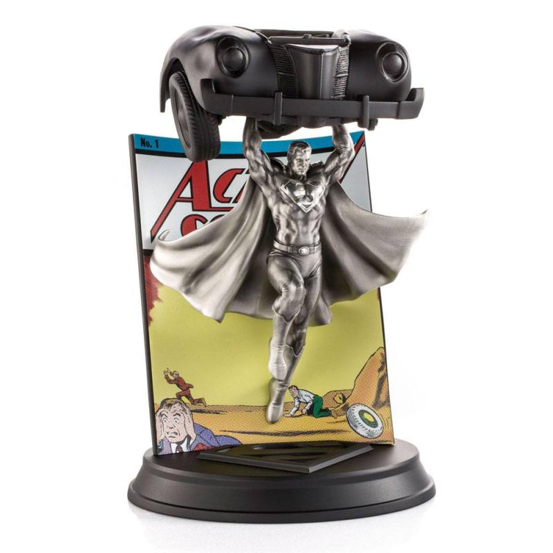 DC Comics: Superman - Pewter Collectible Comics #1 Limited Edition - Statue 29 cm - Royal