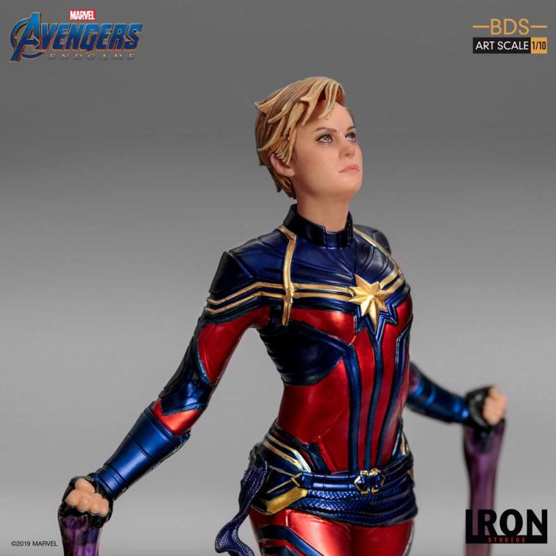 Avengers: Endgame BDS Art Scale Statue 1/10 Captain Marvel 26 cm