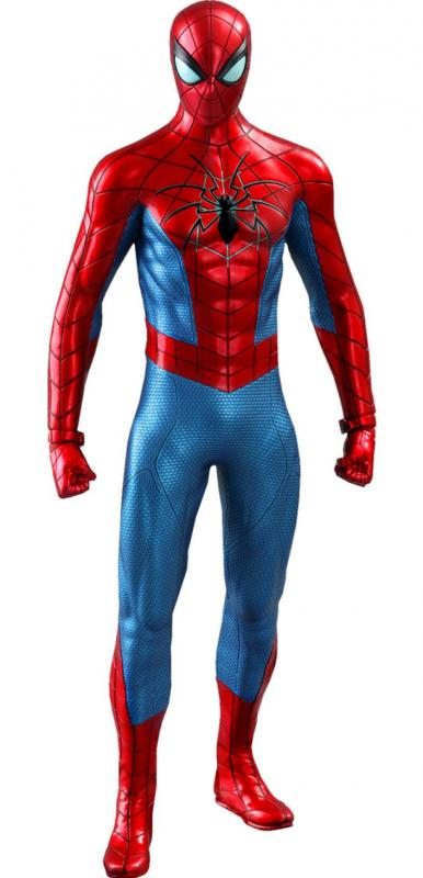 Marvel's Spider-Man (Spider Armor MK IV Suit) - Figure 1/6 - Hot Toys