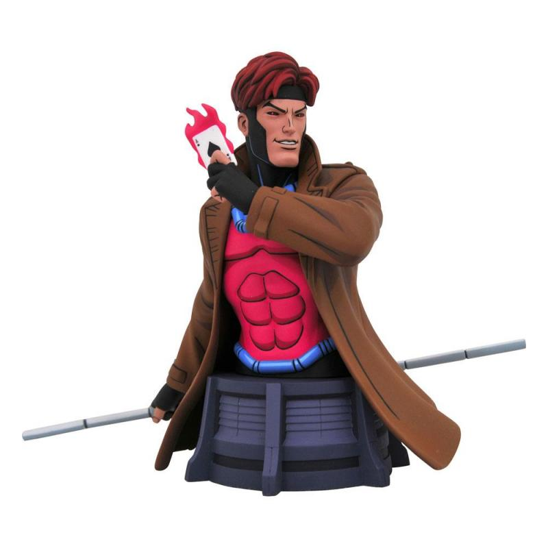 Marvel X-Men Animated Series Bust Gambit 15 cm