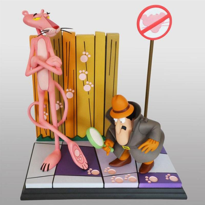 The Pink Panther: Pink Panther & The Inspector 41 cm Statue - Hollywood Collectibles Group