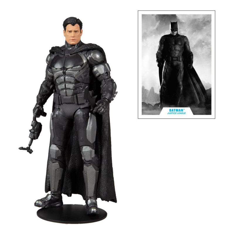 DC Justice League: Batman (Bruce Wayne) 18 cm Action Figure - McFarlane Toys