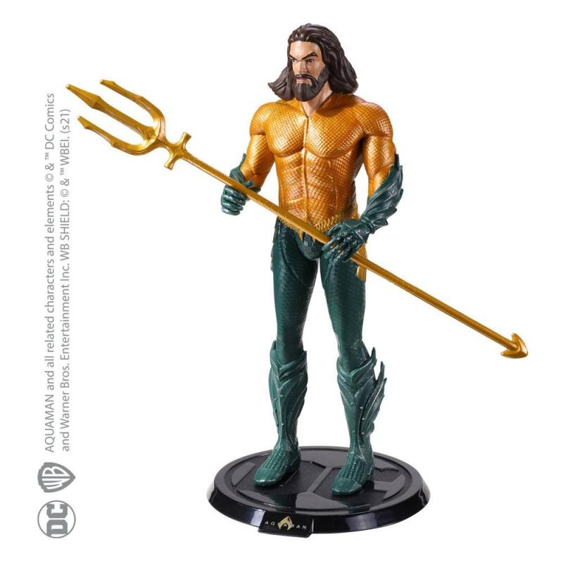 DC Comics: Aquaman 19 cm Bendable Figure - Noble Collection
