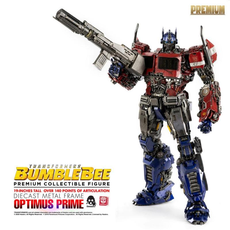 Transformers Bumblebee: Optimus Prime - Premium Action Figure 48 cm - ThreeZero