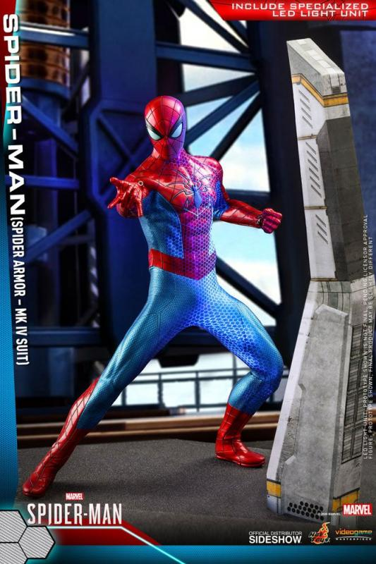 Marvel's Spider-Man Video Game Masterpiece Action Figure 1/6 (Spider Armor MK IV Suit)